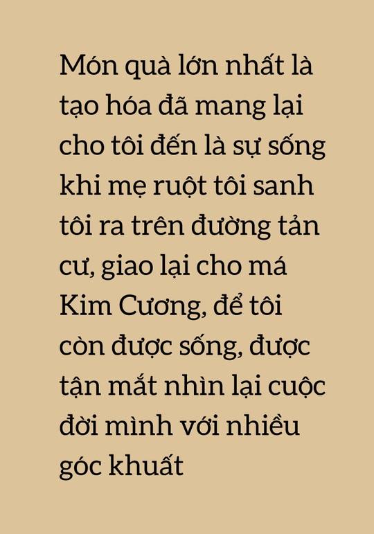 [eMagazine] Câu chuyện bí mật 46 năm của Kỳ nữ Kim Cương - Ảnh 4.