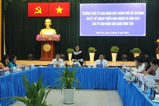Quận Bình Tân phải có giải pháp về vấn đề gia tăng dân số - Ảnh 1.