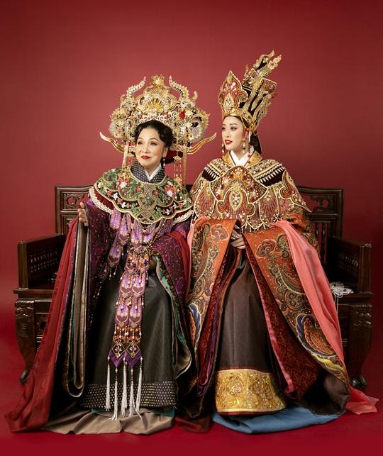 Hoa hậu Khánh Vân hoá thân thành Thái hậu Dương Vân Nga - Ảnh 4.