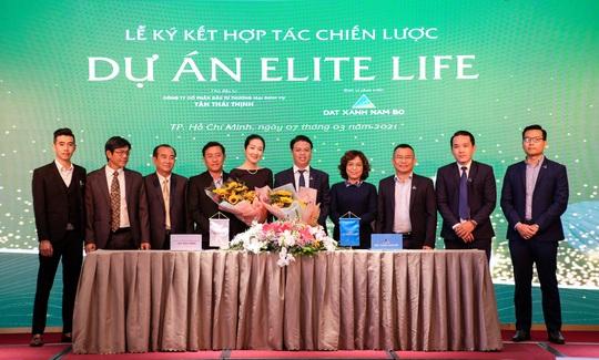 Đất Xanh Nam Bộ chính thức trở thành đơn vị phát triển dự án Elite Life - Ảnh 1.