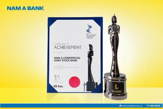 """Nam A Bank được vinh danh """"Nơi làm việc tốt nhất Châu Á"""" - Ảnh 1."""