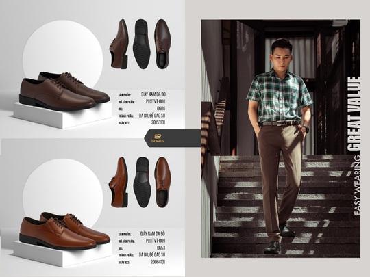 3 mẫu giày Boris dẫn đầu xu hướng giày da nam 2021 - Ảnh 4.