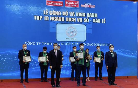 Yến sào Khánh Hòa vào Top 10 ngành Bán lẻ Thương hiệu Mạnh Việt Nam 2020- 2021 - Ảnh 1.