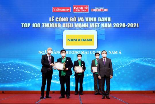 Nam A Bank - Thương hiệu mạnh Việt Nam 6 lần liên tiếp - Ảnh 1.