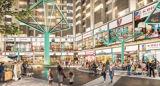 Xuất hiện phố đi bộ mua sắm dọc Xa Lộ Hà Nội - Ảnh 2.