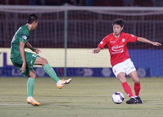 Hà Nội FC quyết có điểm trước CLB TP HCM - Ảnh 1.