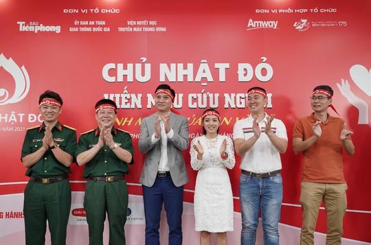 Amway Việt Nam tiếp tục đồng hành cùng chương trình Hiến máu Chủ Nhật Đỏ lần XIII - Năm 2021 - Ảnh 1.
