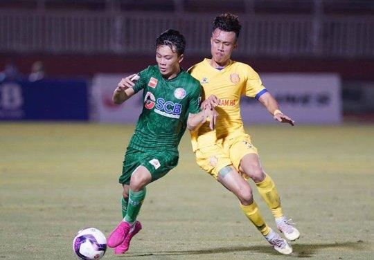 Sài Gòn FC thảm bại trước Nam Định ngay trên sân nhà - Ảnh 3.