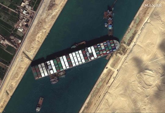 Kênh đào Suez tắc nghẽn có thể khiến thế giới... thiếu giấy vệ sinh - Ảnh 2.