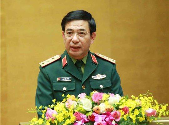 Thượng tướng Phan Văn Giang: Biển Đông tiềm ẩn nguy cơ xung đột - Ảnh 1.