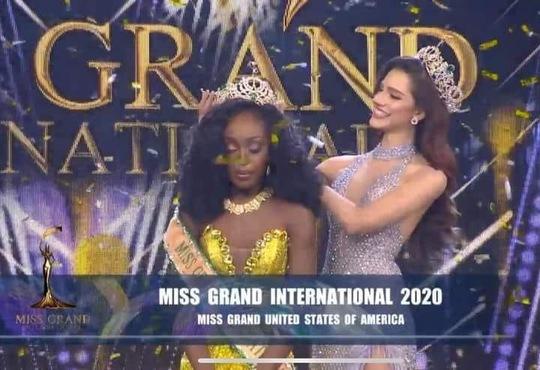 Cận cảnh nhan sắc Hoa hậu vừa đăng quang Miss Grand 2020 - Ảnh 1.