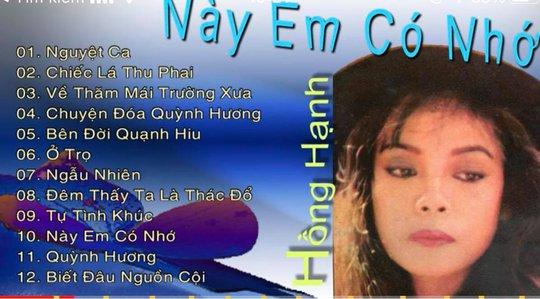 Ca sĩ Hồng Hạnh tưởng nhớ nhạc sĩ Trịnh Công Sơn - Ảnh 2.