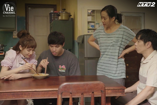 Hồng Ánh làm vợ Thái Hòa trong phim Cây táo nở hoa - Ảnh 2.