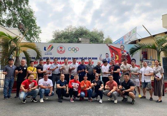 Thể hình Việt hướng tới SEA Games 31 - Ảnh 1.