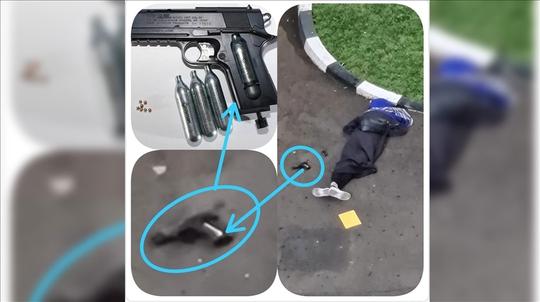 Indonesia: Cô gái trẻ bỏ học đến sở cảnh sát xả súng - Ảnh 1.