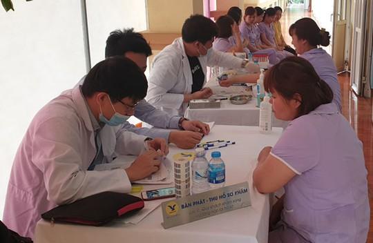 Hà Nội: Hơn 2.000 đoàn viên được khám sức khỏe - Ảnh 1.