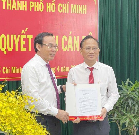 Ông Trần Văn Nam giữ chức Bí thư huyện ủy Bình Chánh - Ảnh 1.