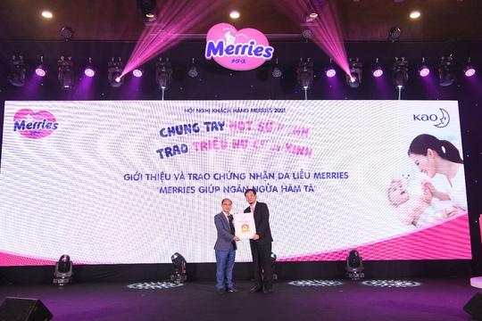 Tã Merries – nhãn hiệu tã giấy em bé đầu tiên tại Việt Nam được chứng nhận ngăn ngừa hăm tã - Ảnh 1.
