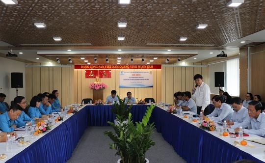Sawaco: Hội nghị đối thoại định kỳ tại nơi làm việc năm 2021 - Ảnh 1.
