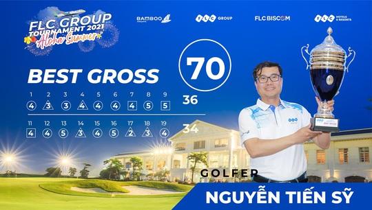 Golfer Nguyễn Tiến Sỹ vô địch FLC Group Tournament 2021 - Ảnh 1.