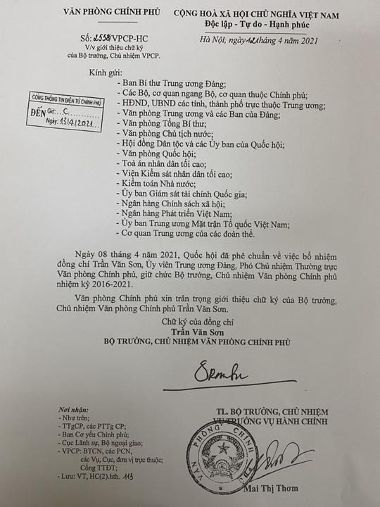 Giới thiệu chữ ký của Thủ tướng Phạm Minh Chính, 2 tân Phó Thủ tướng - Ảnh 5.