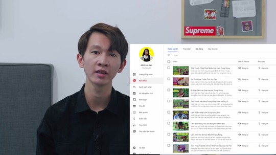 Kênh YouTube Thơ Nguyễn mở lại, vắng bóng nhân vật chính - Ảnh 1.