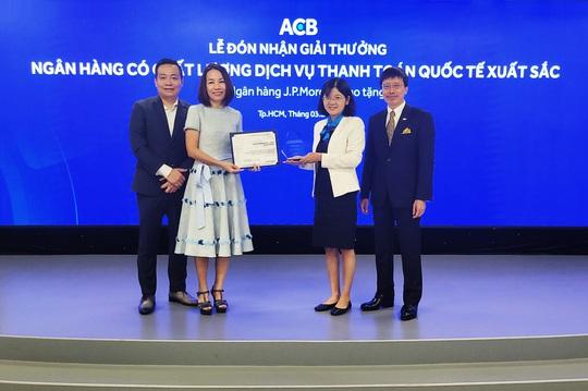 ACB nhận 3 giải thưởng Chất lượng Thanh toán quốc tế xuất sắc - Ảnh 1.