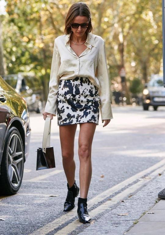 Sao Hollywood lăng xê chân váy mini mát mẻ mùa hè - Ảnh 8.