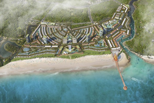 Tiềm năng lớn của cung đường du lịch Hồ Tràm - Bình Châu - Ảnh 1.