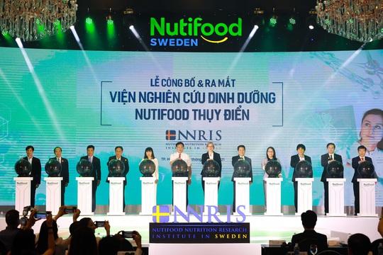 Nutifood ra mắt Viện Nghiên cứu dinh dưỡng Nutifood Thụy Điển - Ảnh 1.