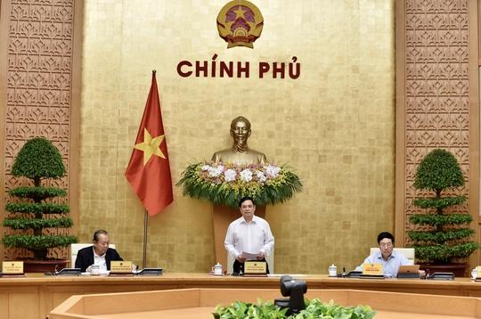 Thủ tướng Phạm Minh Chính lần đầu chủ trì phiên họp Chính phủ - Ảnh 1.