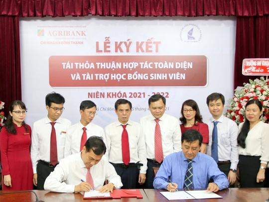 Agribank Chi nhánh Bình Thạnh ký kết thỏa thuận hợp tác với Trường đại học Khoa học Tự nhiên - Ảnh 1.