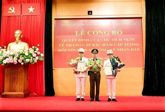 Chánh Văn phòng Bộ Công an Tô Ân Xô được thăng cấp bậc hàm Trung tướng - Ảnh 2.