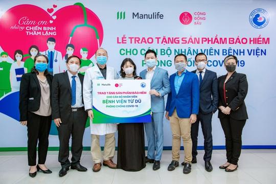 Manulife Việt Nam tri ân đội ngũ bác sĩ tại các bệnh viện phụ sản - Ảnh 1.