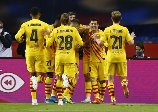 Cúp Nhà vua: 12 phút rực sáng chung kết, Barcelona lên ngôi vô địch  - Ảnh 4.