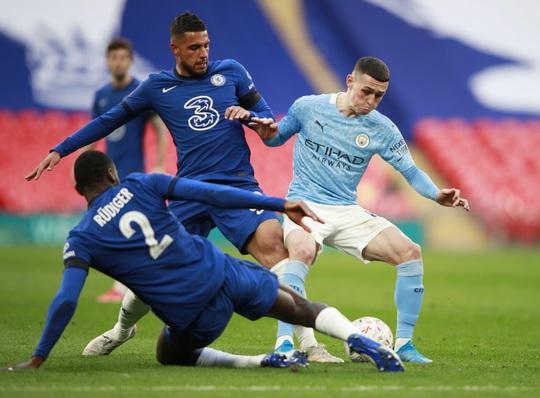 Man City tan giấc mộng ăn 4, Chelsea đoạt vé chung kết FA Cup - Ảnh 2.