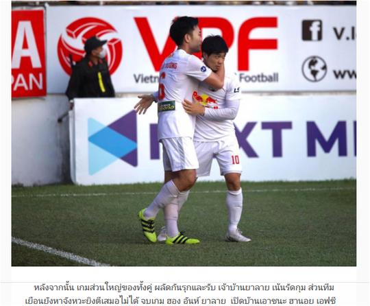 Báo Thái Lan ca ngợi thành tích của HLV Kiatisak và cầu thủ Hoàng Anh Gia Lai - Ảnh 4.