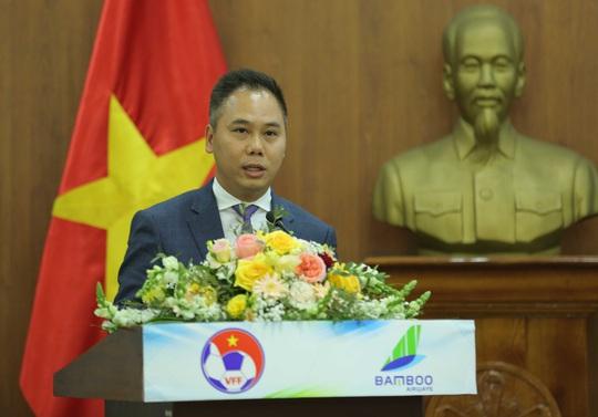 Các đội tuyển bóng đá Quốc gia Việt Nam có nhà tài trợ vận chuyển đường không - Ảnh 4.