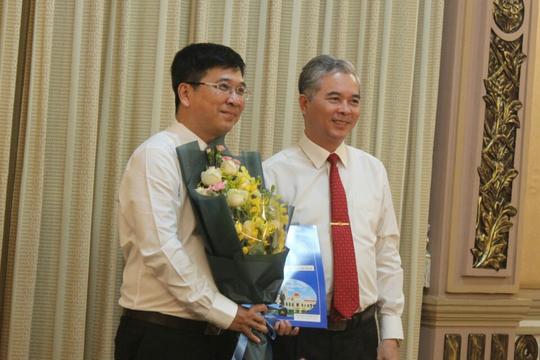 Sở Tư pháp TP HCM có tân Phó Giám đốc - Ảnh 1.