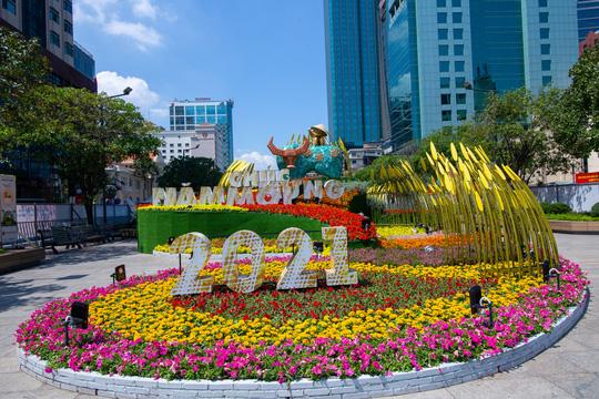 Tìm ý tưởng thiết kế mới cho Đường hoa Nguyễn Huệ - Tết Nhâm Dần 2022 - Ảnh 3.