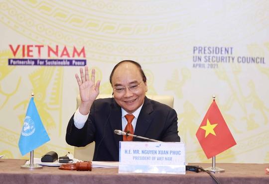 Chủ tịch nước Nguyễn Xuân Phúc chủ trì phiên họp quan trọng của Hội đồng Bảo an - Ảnh 1.