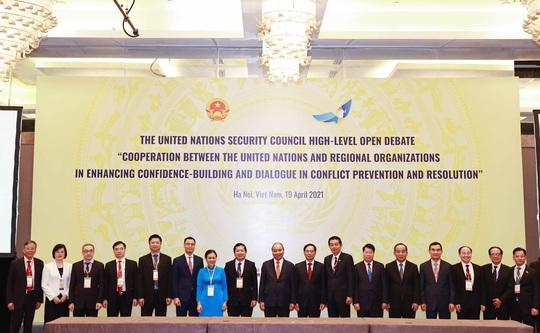 Chủ tịch nước Nguyễn Xuân Phúc chủ trì phiên họp quan trọng của Hội đồng Bảo an - Ảnh 4.