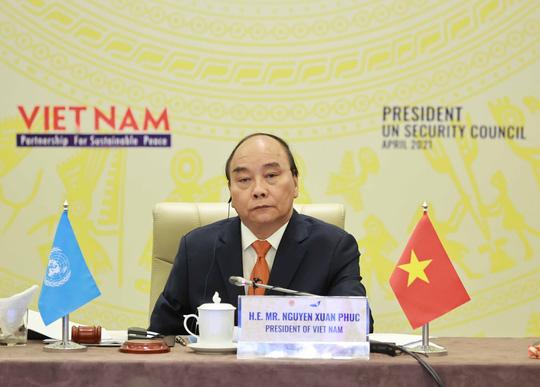 Chủ tịch nước Nguyễn Xuân Phúc chủ trì phiên họp quan trọng của Hội đồng Bảo an - Ảnh 5.