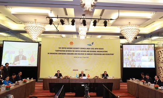 Chủ tịch nước Nguyễn Xuân Phúc chủ trì phiên họp quan trọng của Hội đồng Bảo an - Ảnh 7.
