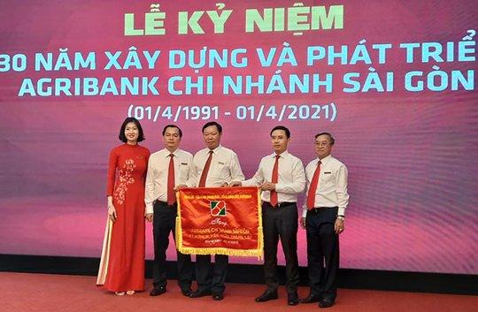 Agribank chi nhánh Sài Gòn tổ chức Lễ kỷ niệm 30 năm thành lập - Ảnh 1.