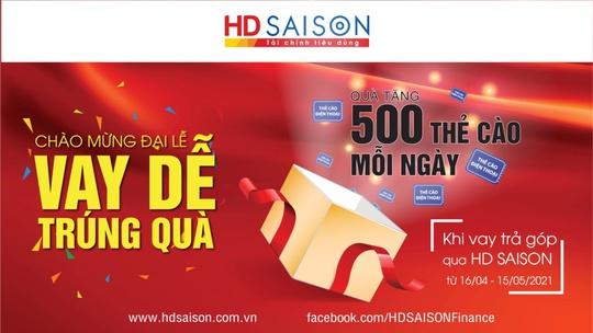 Mở quà mừng đại lễ cùng HD SAISON - Ảnh 1.