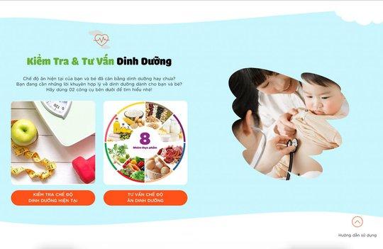 Cần Thơ ứng dụng Phần mềm xây dựng thực đơn cân bằng dinh dưỡng cho mẹ và bé - Ảnh 2.