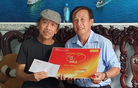 """""""Mai Vàng nhân ái"""" đến với NSƯT Ngọc Quang - Ảnh 2."""
