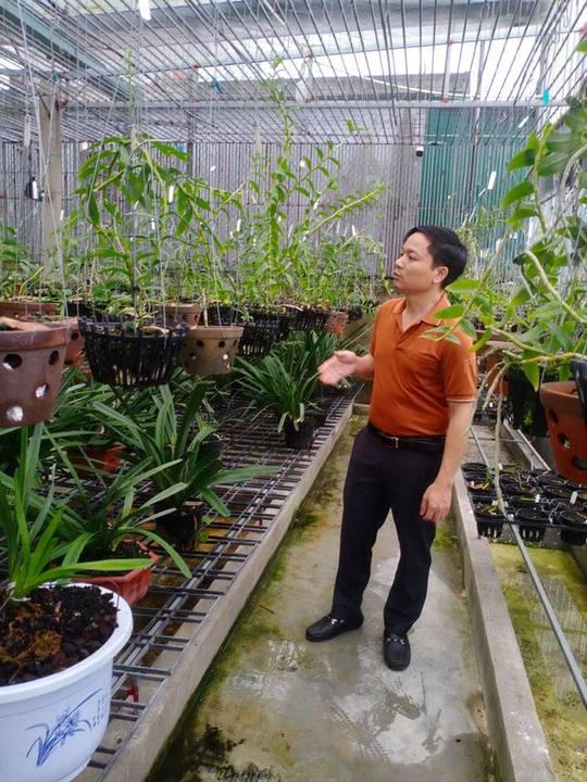 Ông chủ vườn lan 7X Mạnh Hùng chia sẻ kinh nghiệm trồng hoa lan - Ảnh 4.