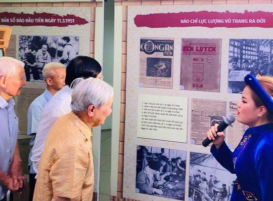 Trưng bày, tọa đàm báo chí Việt Nam 1946-1954: Từ Hà Nội đến chiến khu Việt Bắc - Ảnh 3.